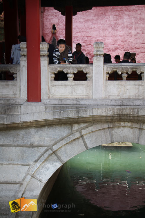 A bridge at the summer palace in Beijing
