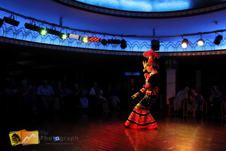 Chinese costume show