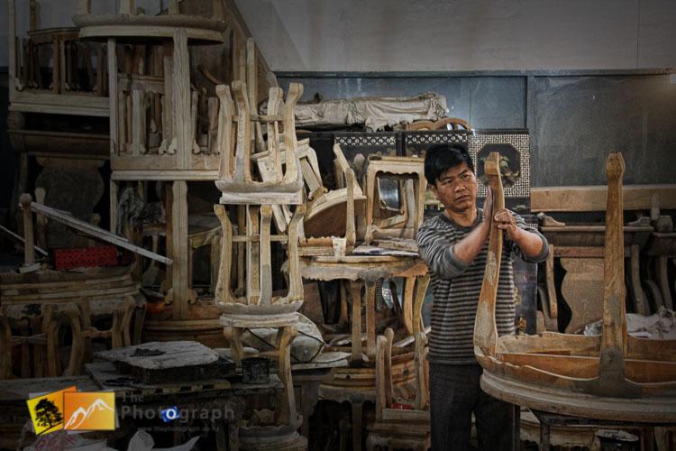 Making traditional furniture