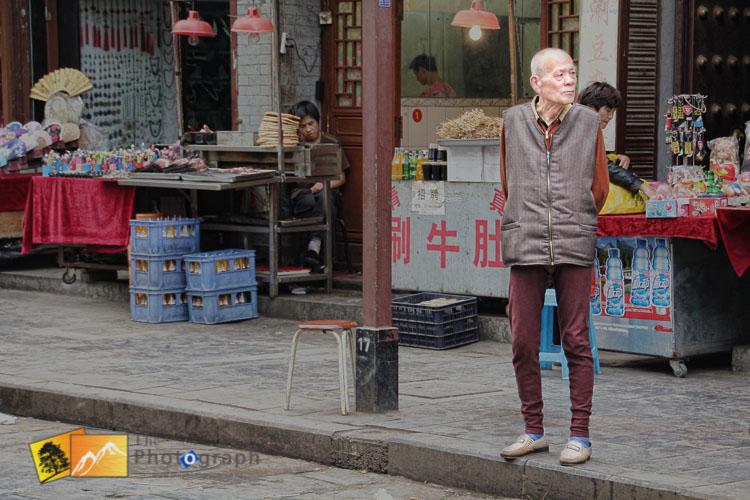 Muslim market in Xian