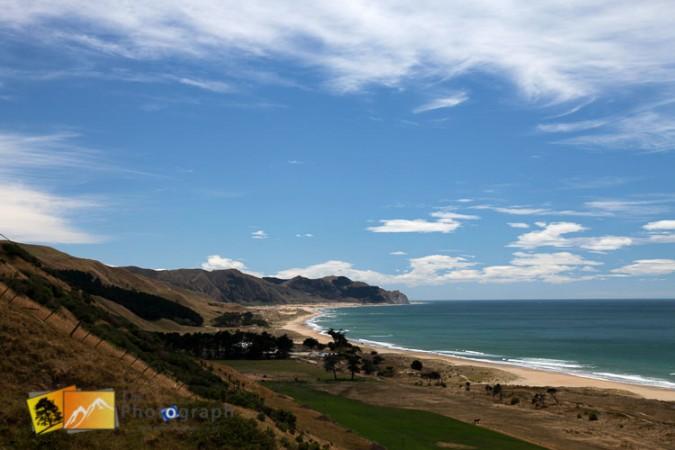 Hawkes bay beach.