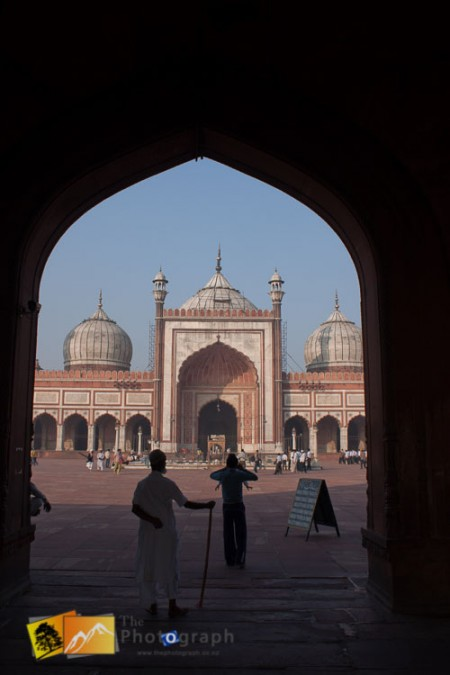 Entrance to Jama Masjid Mosque
