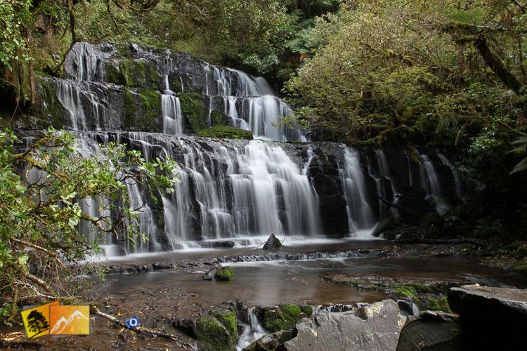 Phukanui Falls, south island.