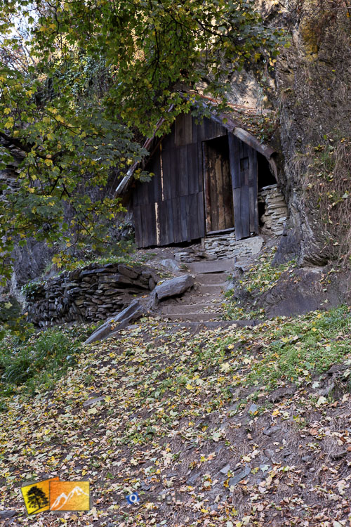 Settler's cottage at Arrowtown.