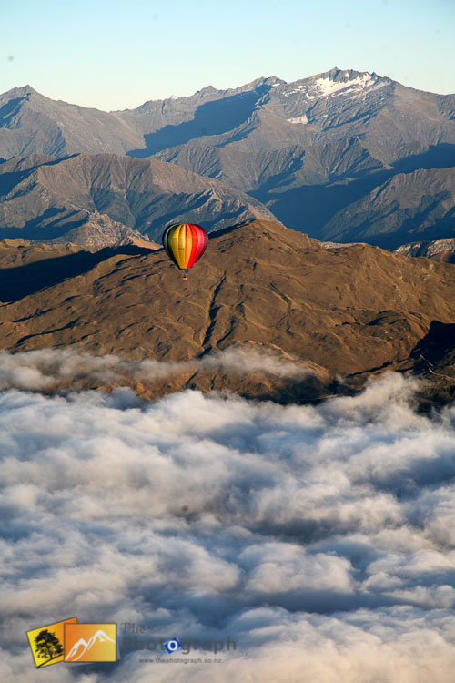 Queenstown balloon flight.