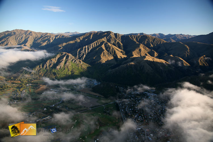 Air ballon flight to Arrowtown.