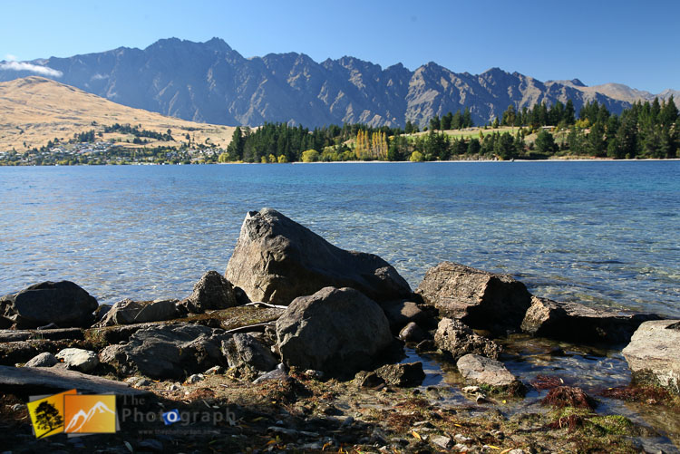 Lake Wakatipu and remarkables view.