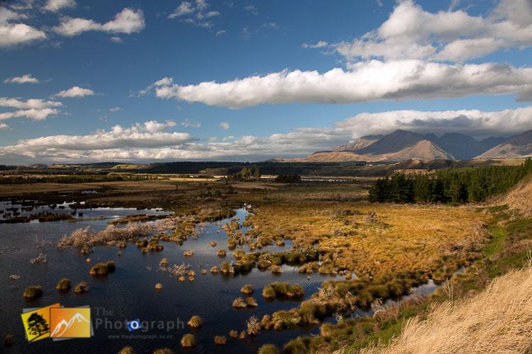 Rakatu wetlands, Fiordlands.