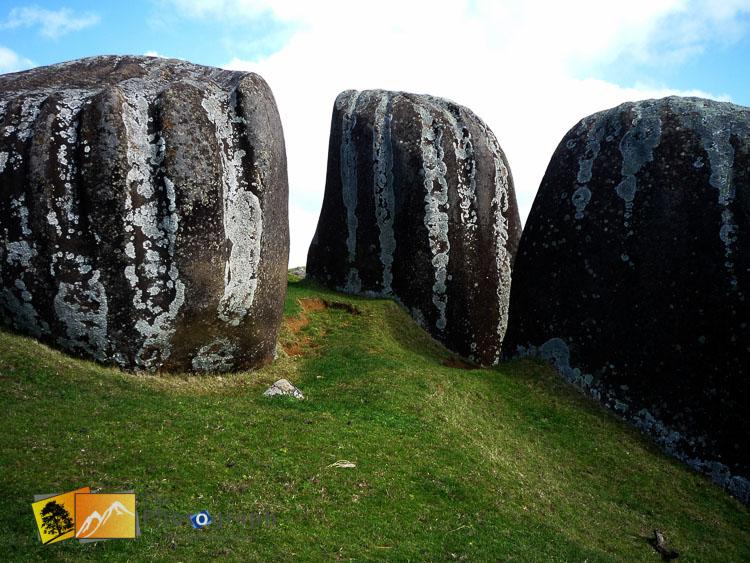 Stony Batter rocks, Waiheke island near Auckland.