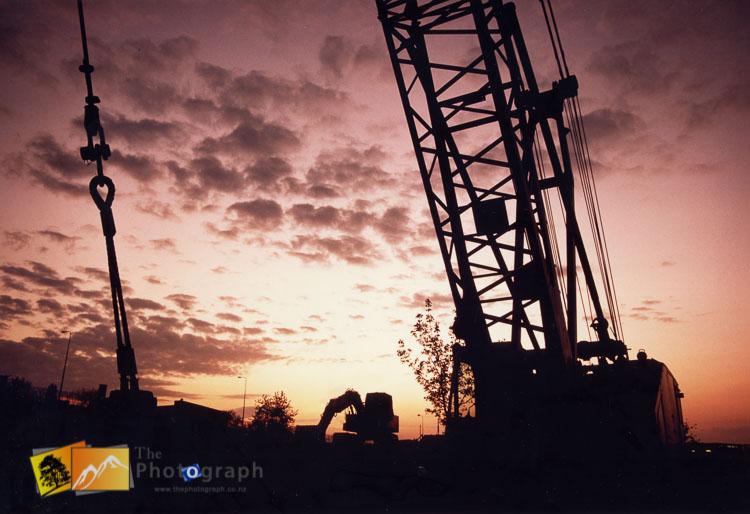 Stevenage building site