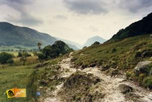 lake district walk to buttermere in cumbria