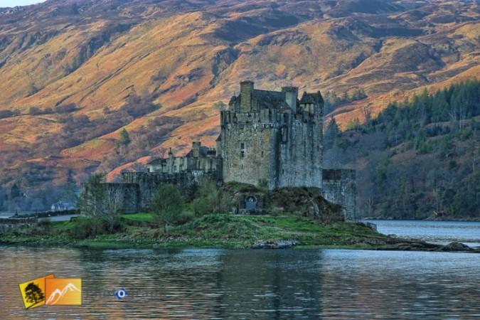 Eilean Donan Castle in Autumn